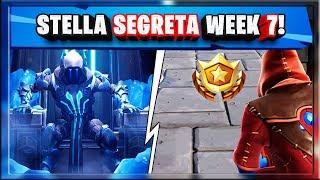STELLA SEGRETA WEEK 7 SEASON 7 FORTNITE! SECRET BATTLE STAR LOCATION WEEK 7 SEASON 7!