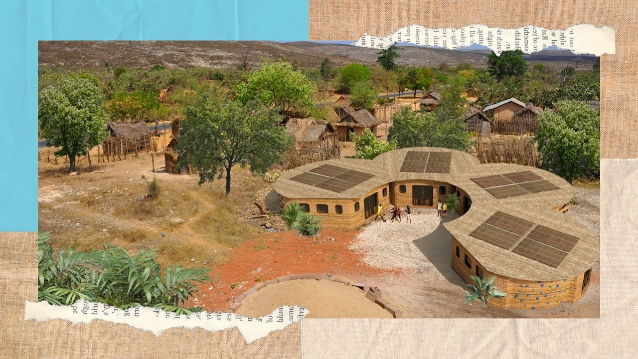 Thinking Huts | Introducing the World's First 3D Printed School in Madagascar