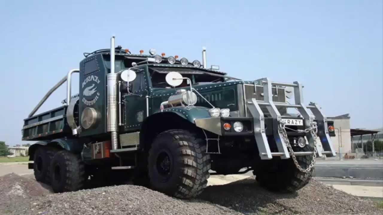 Тюнинг Краз. Тюнинг грузовиков фото - YouTube