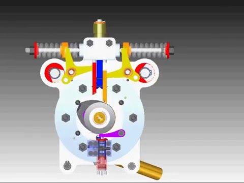 Fanara Rotary Engine animation