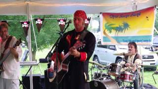 "Chris Sacks Band performing Jimmy Buffett ""Trying To Reason With Hurricane Season"""