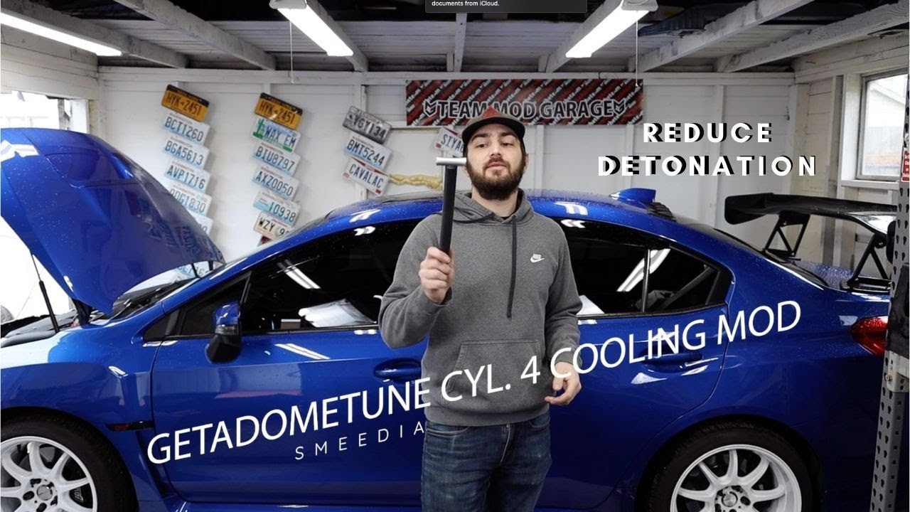 Cylinder 4 Cooling Mod Install Sti Youtube