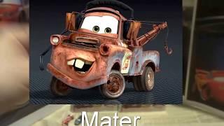 Cars 3D Toys Lightning McQueen 12 Kinder Surprise Eggs