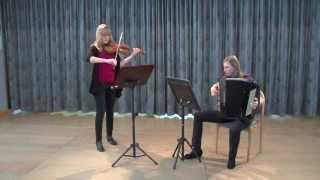 Matti Murto: Dancing Suite - Tarantella - Elena Müller, Veronika Fritz