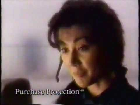 American Express ad with Ashley Peldon and Mia Korf 1989