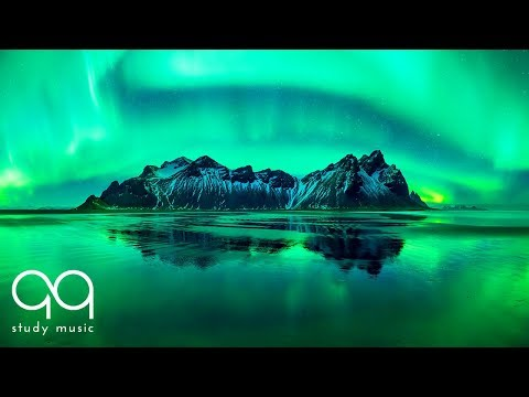Aurora Borealis & Northern Lights Music 🔵 Ambient Sounds and Relaxing Music