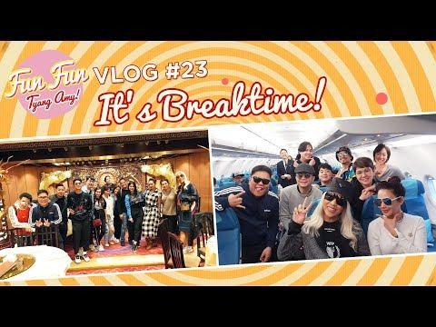 [Fun Fun Tyang Amy] Vlog 23 : Break Time with Showtime Family   Hong Kong Trip