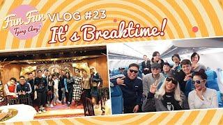 [Fun Fun Tyang Amy] Vlog 23 : Break Time with Showtime Family | Hong Kong Trip
