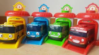 Tayo Bus Set unboxing with Dlan