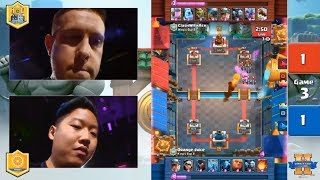 Orange Juice vs Clash With Ash | Clash Royale King's Cup 2017 - $200,000 Clash Royale Tournament