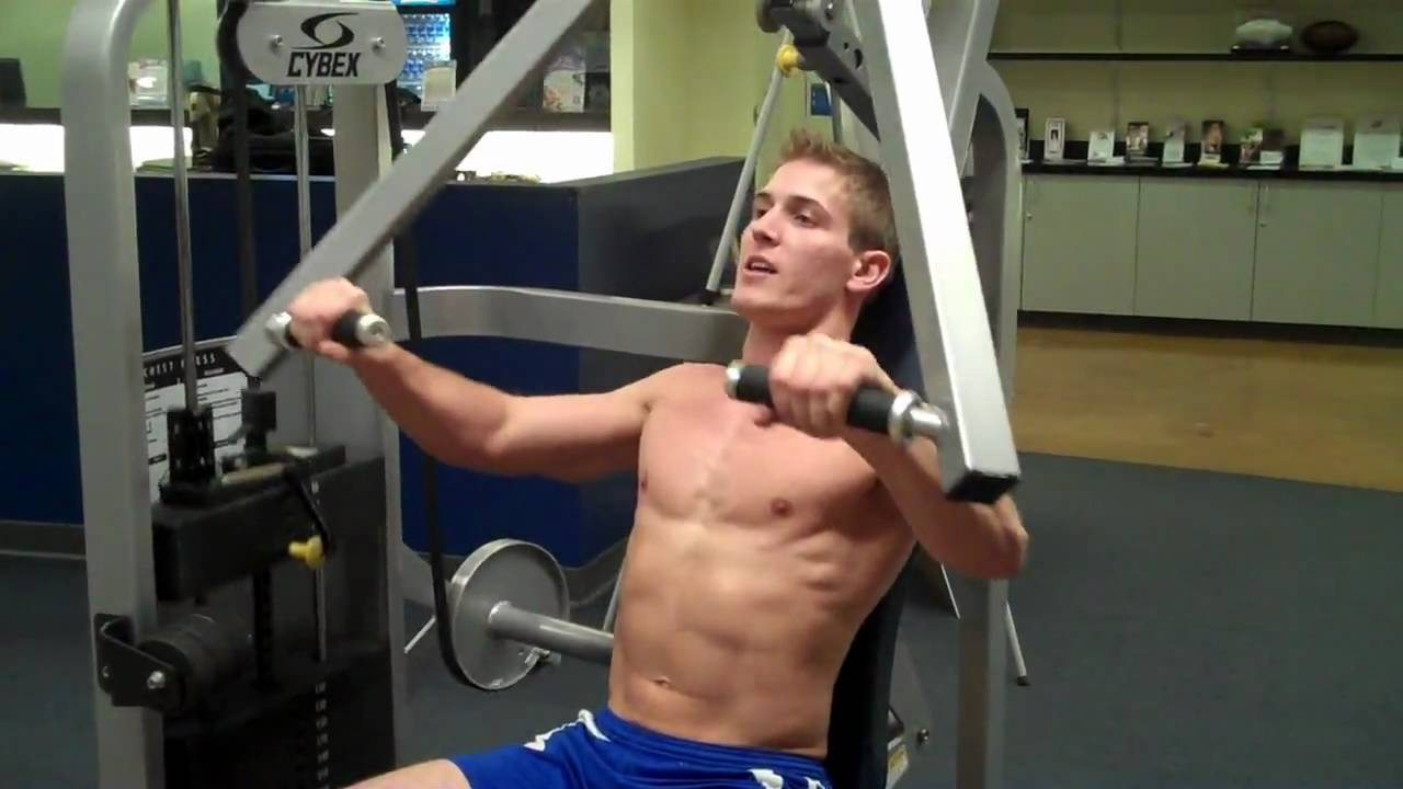 How To Chest Press Cybex Youtube