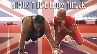 Shaun T Trains Europe 2 Live From Manchester and London United Kingdom