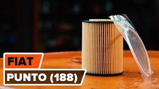 Jak vyměnit Olejovy filtr на FIAT PUNTO (188) - online zdarma video