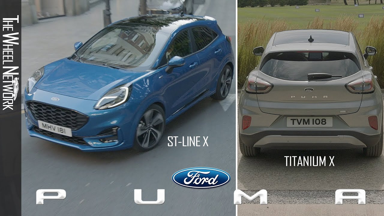 2020 Ford Puma St Line X And Titanium X Youtube