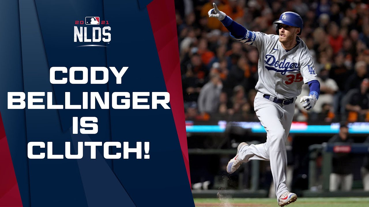 Cody Bellinger drives in the game-winning run in the top of the 9th to send the Dodgers to the NLCS!