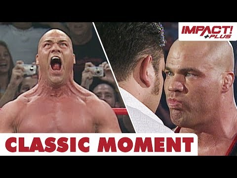 Kurt Angle's Epic Debut In IMPACT Wrestling (Oct 19, 2006) | Classic IMPACT Moments
