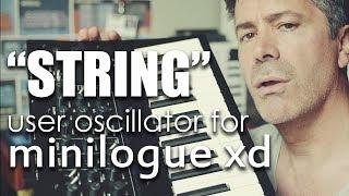 String User Oscillator for Korg Minilogue XD