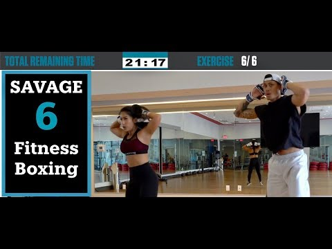 Savage 6 INTERVAL FITNESS BOXING WORKOUT
