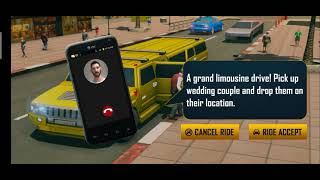 Big City Limo Car Driving Simulator Limousine Parking Game    Android Gameplay    Mobile Game Play screenshot 5