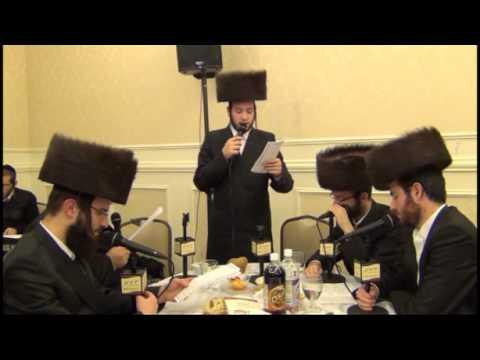 Motty Illowitz Badchen @ Hivnov Melava Malka calling up Heshy Rubin Pras Hakoras Hatov