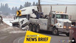 Big Rig Slowed Traffic | Asdela
