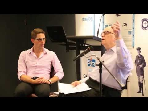 Fred Weisinger speaks about the holocaust at the Sydney Jewish Museum 2014