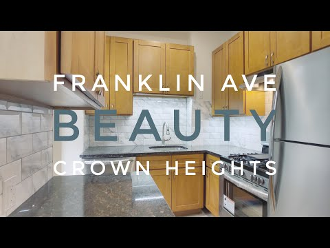 Completely Remodeled Beauty on Franklin Avenue in Prime Crown Heights! Apartment Video Tour NYC