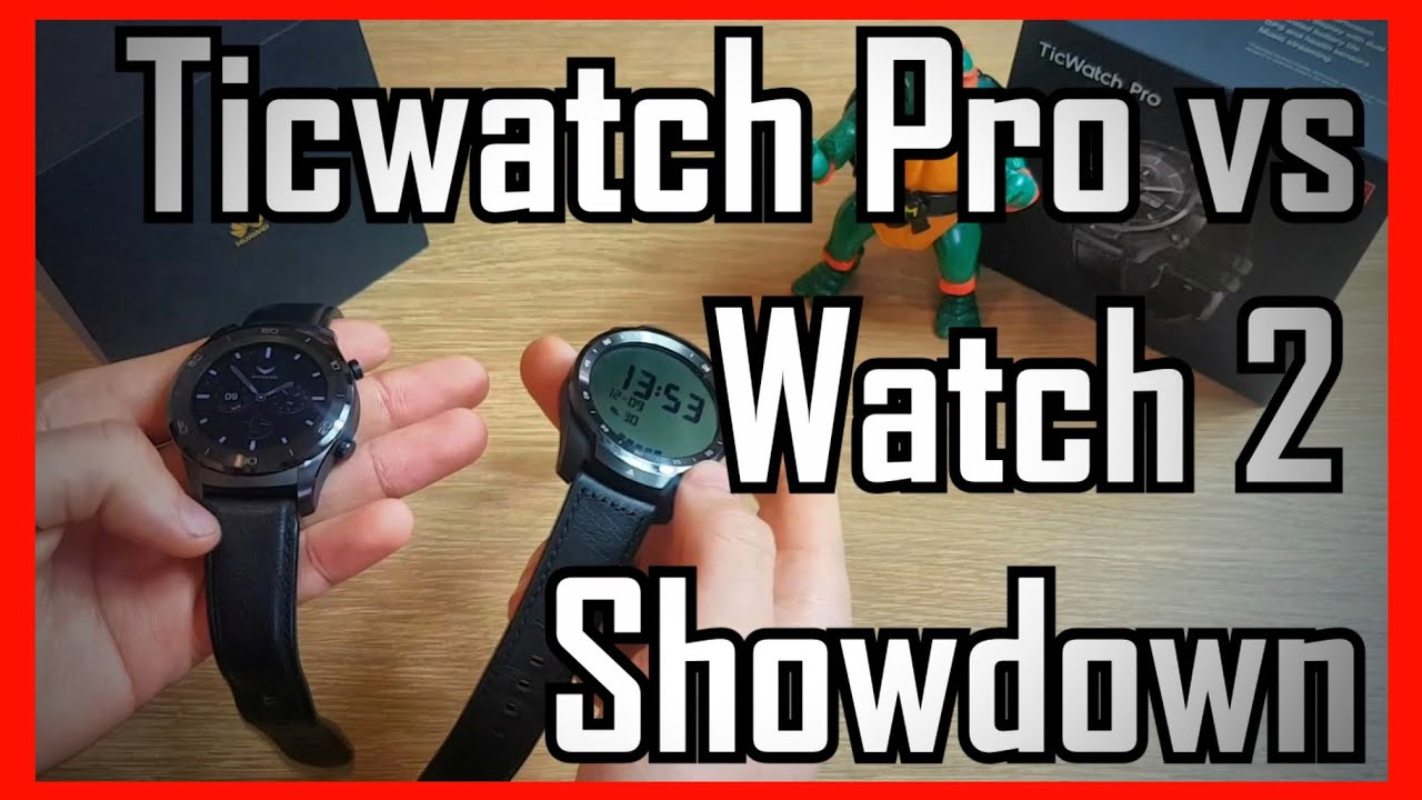 Best Android Wear OS Watch? Mobvoi TicWatch Pro vs Huawei Watch 2  Comparison Showdown & Review!