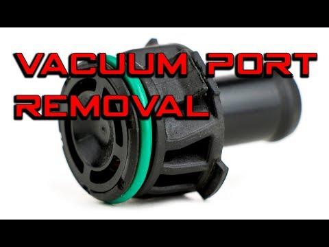 Vacuum pump rebuild - Vacuum port O-ring replacment