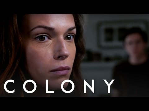 Colony  Amanda Righetti  Behind the s