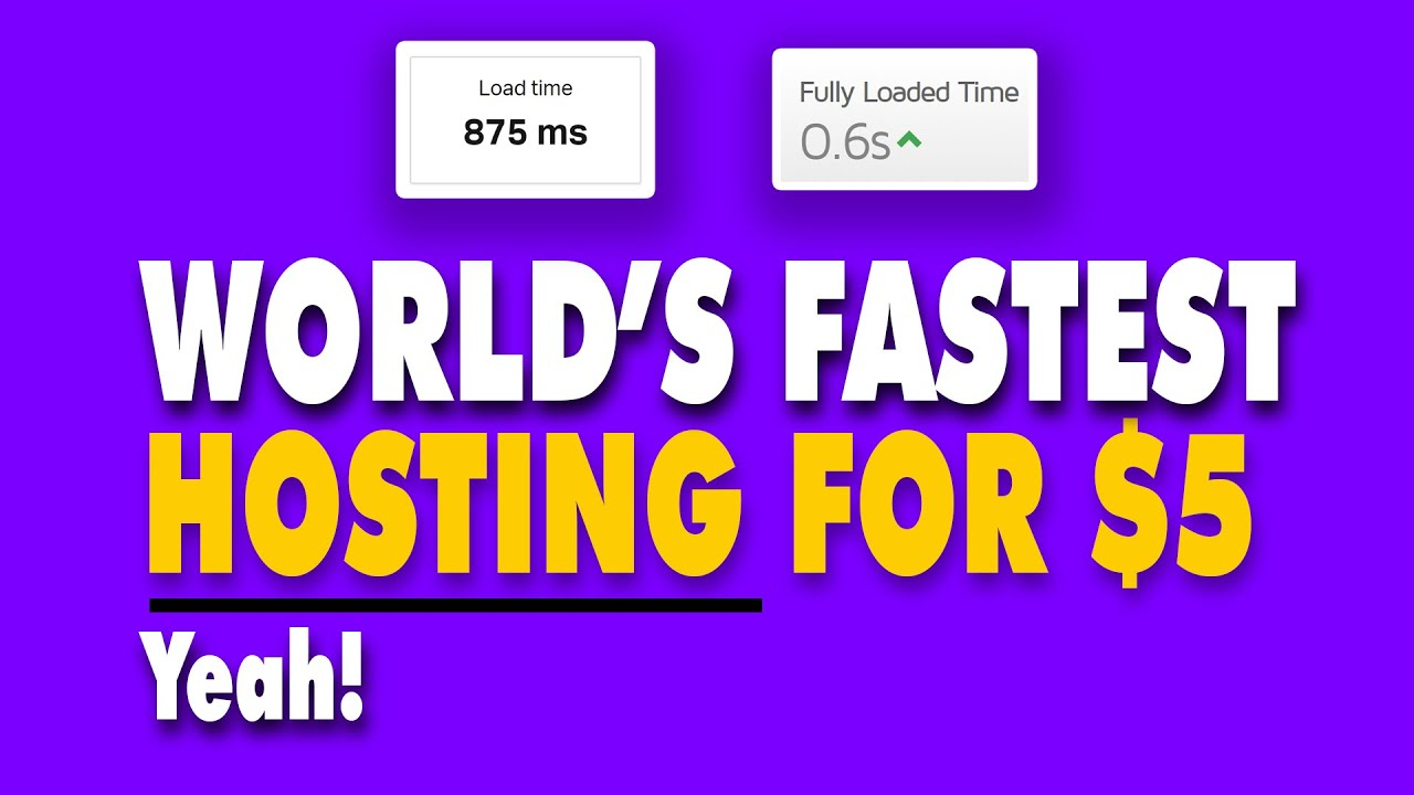 Best Web Hosting Service For WordPress & Small Business In 2020