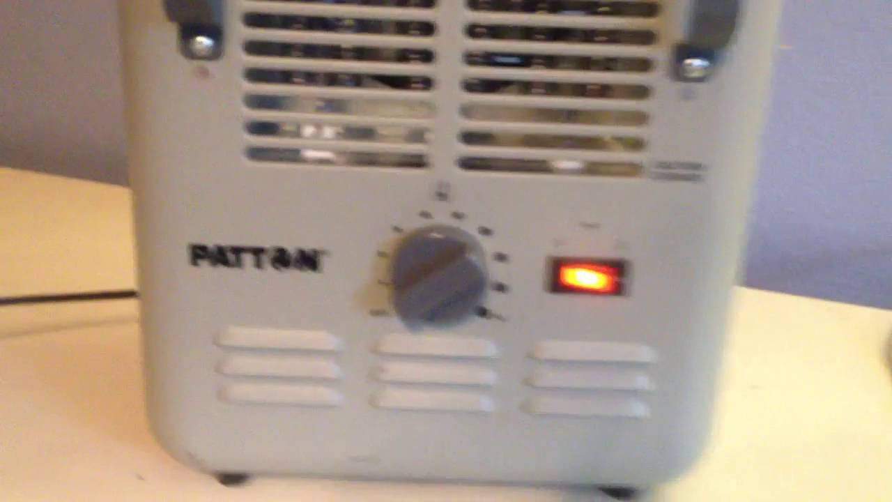 2015 patton milkhouse/space heater model: puh680 (quick video)