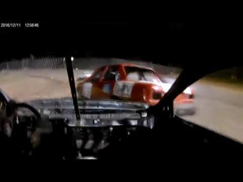 Car Roll Onboard! Hornet Race Car Cottage grove Speedway 5/6/17 #4 Erol Chandler