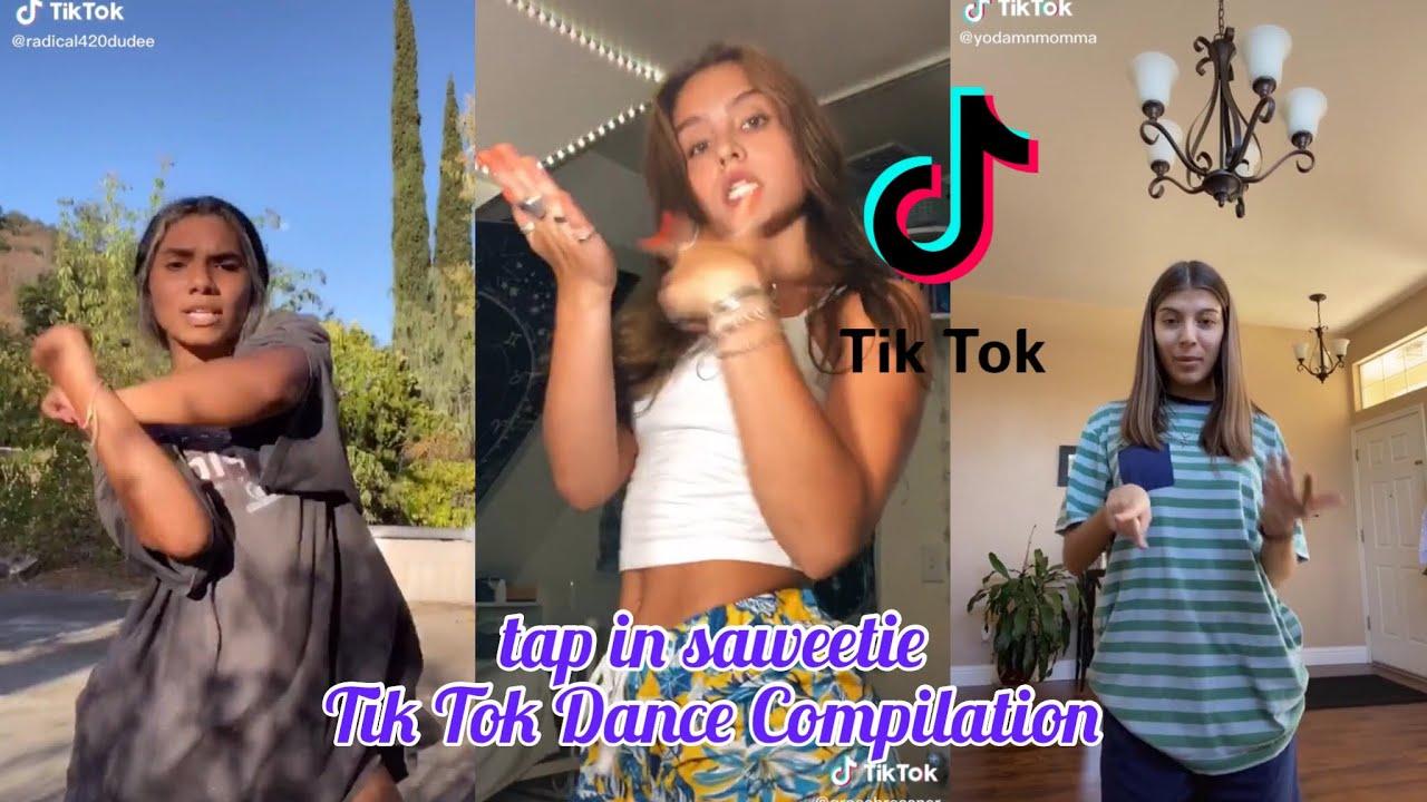 Tap in Saweetie Tik Tok Dance Compilation