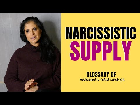 """What Is """"narcissistic Supply""""? (Glossary Of Narcissistic Relationships)"""