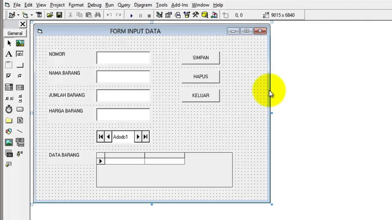 Cara Input Data Dengan Macro Excel