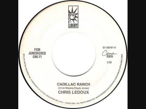 Chris Ledoux Cadillac Ranch 1992 Hq Youtube