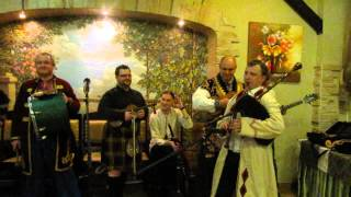 Scottish and Ukrainian Bagpipes Battle