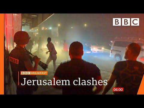 Jerusalem crisis: Pleas for calm as violence escalates @BBC News live 🔴 BBC