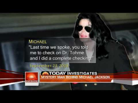 NEW MJ's audio tape released - Mystery Man Behind Michael Jackson
