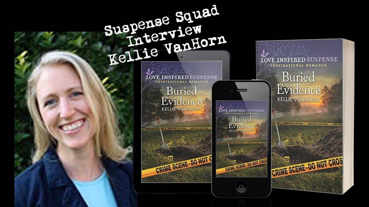 Suspense Squad Interview with Kellie Van Horn