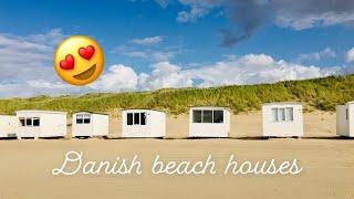 Cute Little Danish Beach Houses At Blokhus North Jutland