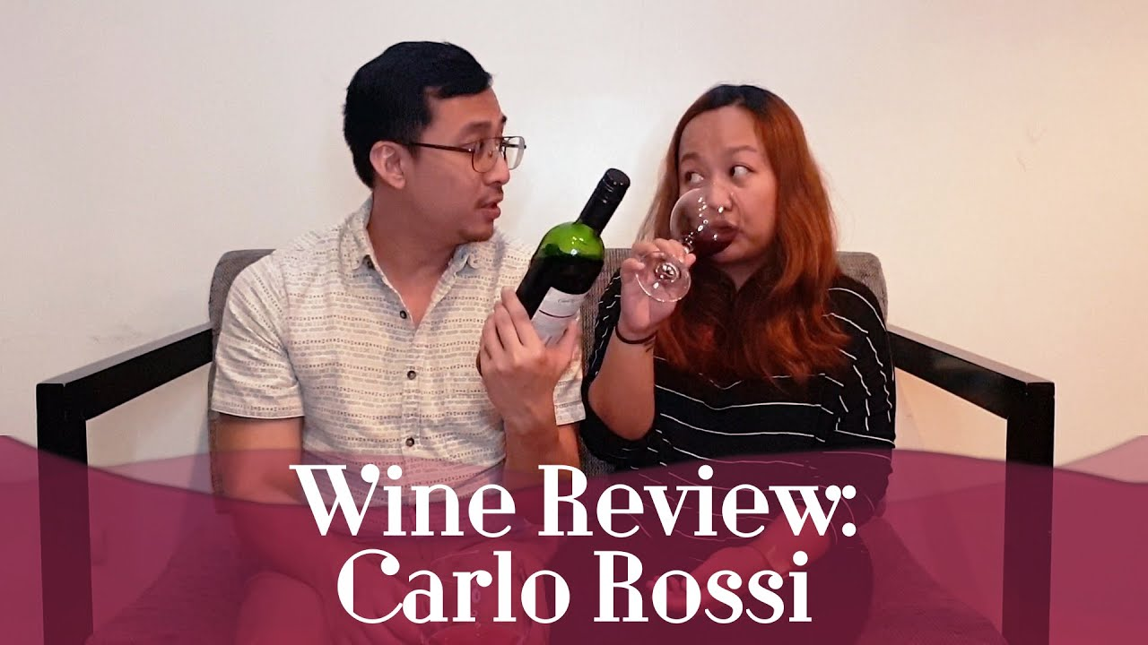 Wine Review Carlo Rossi Sangria Episode 62 Youtube
