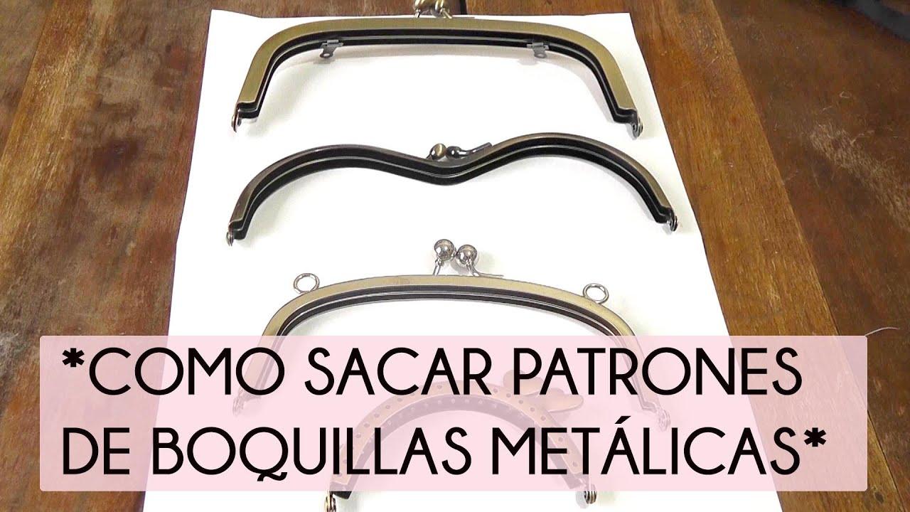 COMO SACAR PATRONES DE BOQUILLAS METALICAS - YouTube