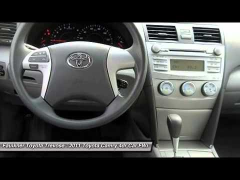 Faulkner Toyota Trevose >> 2011 TOYOTA CAMRY Trevose, PA P0158 - YouTube