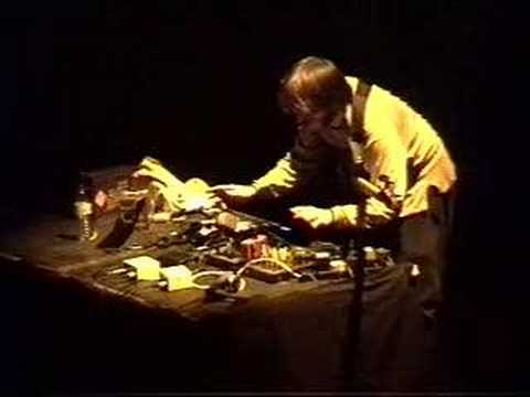 Squarepusher live in Lille circa 1996