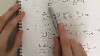 Derivation of Lagrange's Equations - Part 1