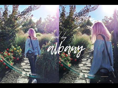 TRAVEL VLOG / A WEEKEND IN ALBANY