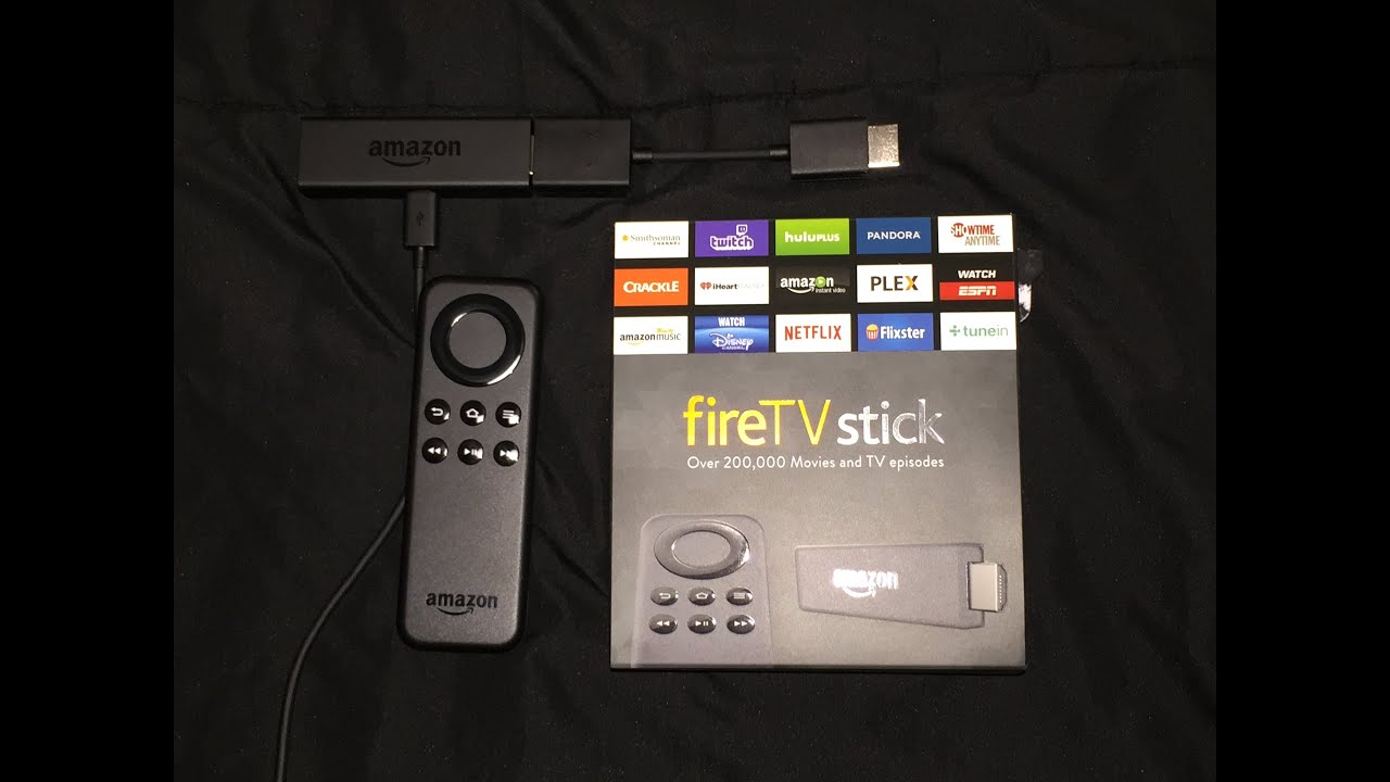 Amazon firetv stick semi unboxing and brief review youtube