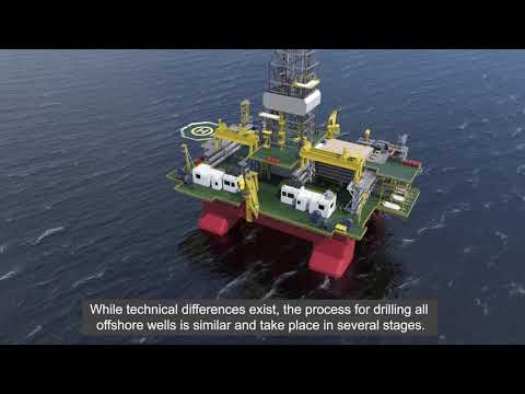 Oil and Gas 101: Offshore Drilling at Woodside (Burmese)